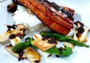 山椒の佃煮がアクセント!ちょっとガンバッたウナ丼。