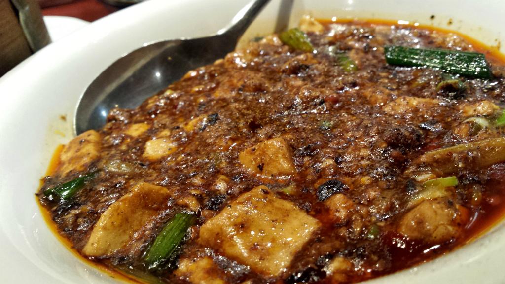 四川山椒入りマーボー豆腐