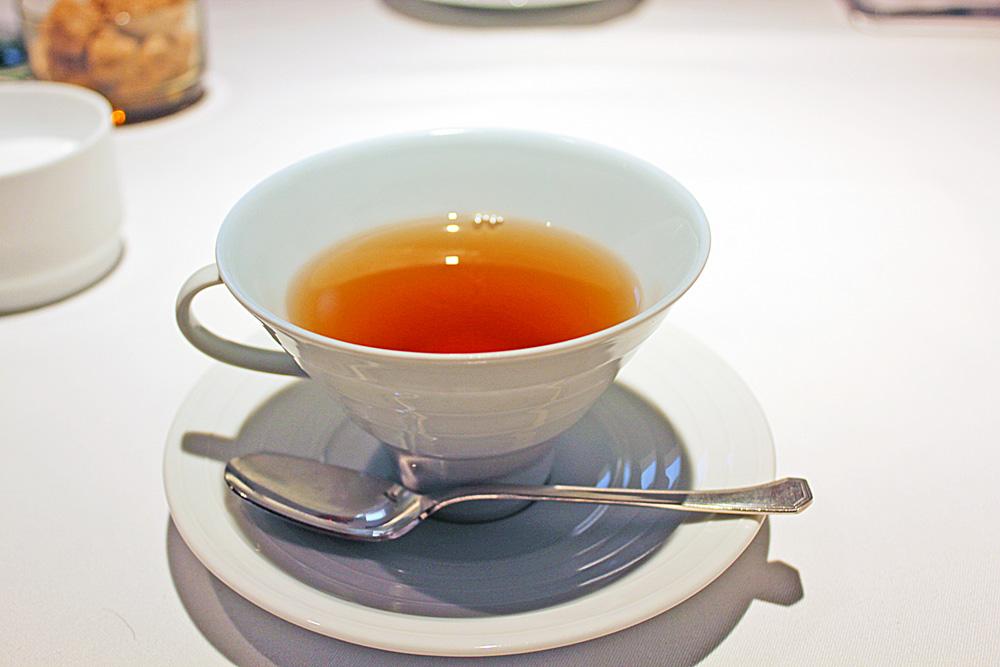 マンゴーフレーバーの紅茶