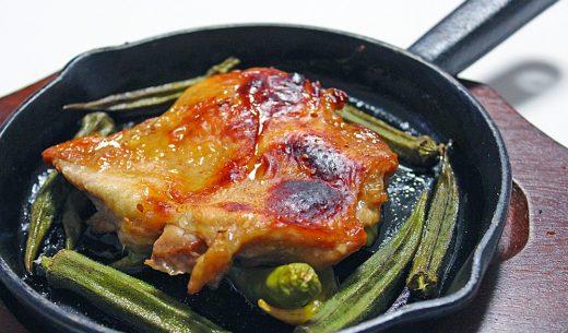 オーブントースターで簡単♪鶏モモのオーブン焼き!
