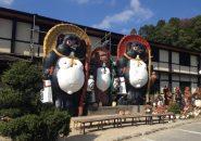 信楽陶芸たぬき村で電動ロクロ陶芸体験
